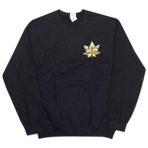 Leafs By Snoop Black Crewneck Sweatshirt
