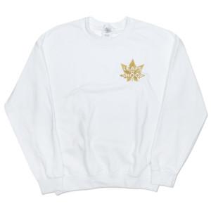 Leafs By Snoop White Crewneck Sweatshirt