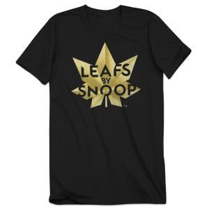 Leafs by Snoop Black Unisex T-Shirt