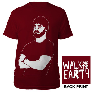 Cardinal Bearded Man T-shirt