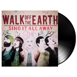 AUTOGRAPHED Sing It All Away Vinyl Album