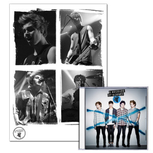 5SOS: Standard MP3 + Limited Edition Live Print Bundle