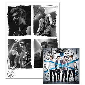 5SOS: Deluxe MP3 + Limited Edition Live Print Bundle