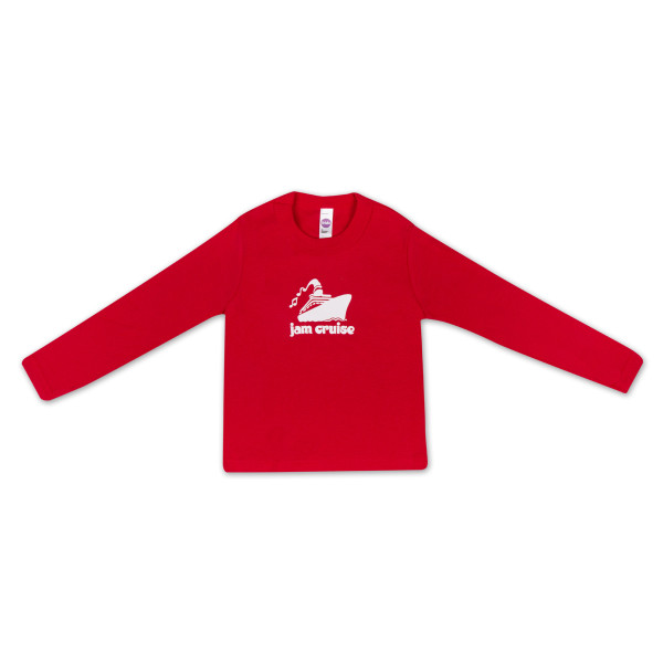 1237c381 Jam Cruise Kids Logo T-Shirt (Red) | Shop the Jam Cruise Official Store