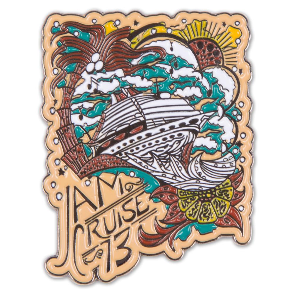 Jam Cruise Jeff Wood Ship Pin