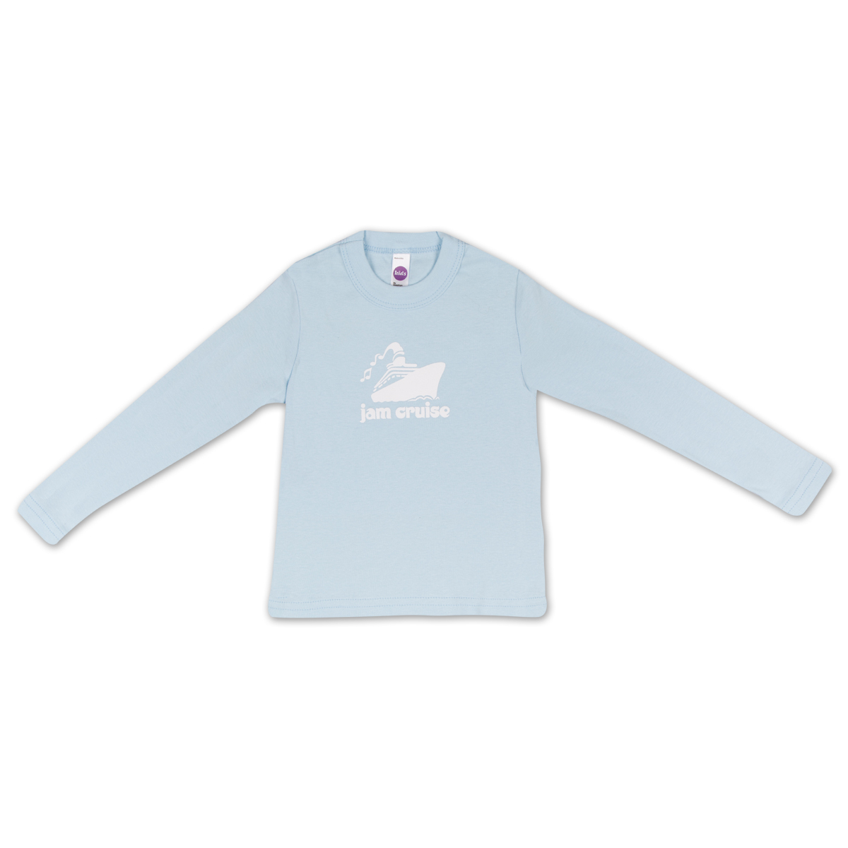 Jam Cruise Kids Logo T-Shirt (Light Blue)