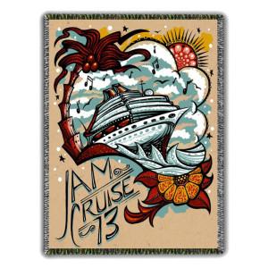 Jam Cruise 13 Blanket
