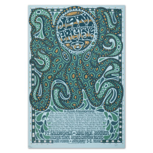 Jam Cruise 8 Octopus Poster
