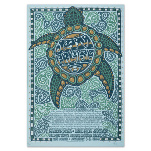 Jam Cruise 8 Turtle Poster