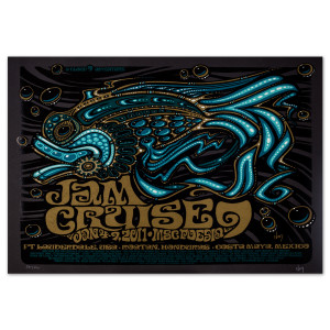 Jam Cruise 9 Fish Poster