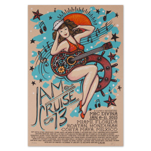 Jam Cruise 13 Sailor Girl Poster