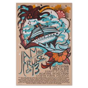Jam Cruise 13 Ship Poster