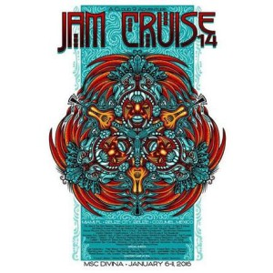 Jam Cruise 14 Poster