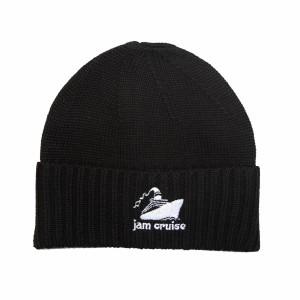 Jam Cruise Beanie (Black and White)