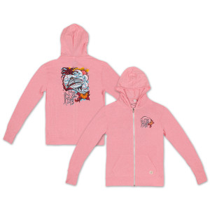Ladies JC '13 Jeff Wood Zip-Up Hoodie