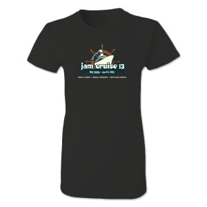 Jam Cruise Women's Logo Shirt - Black