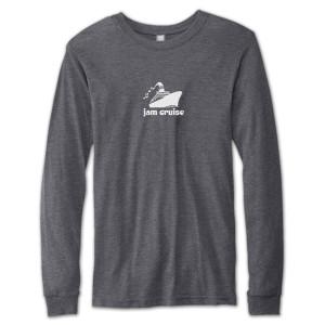 Jam Cruise Logo Long Sleeve T-Shirt - Heather