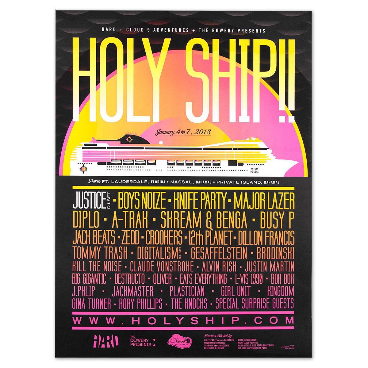 Holy Ship!! 2013 Poster