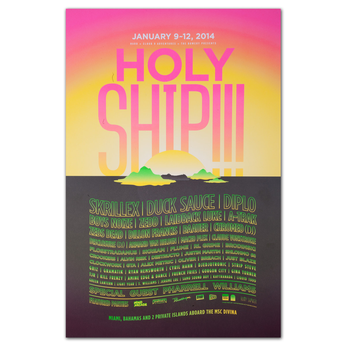 Holy Ship!!! 2014 Poster