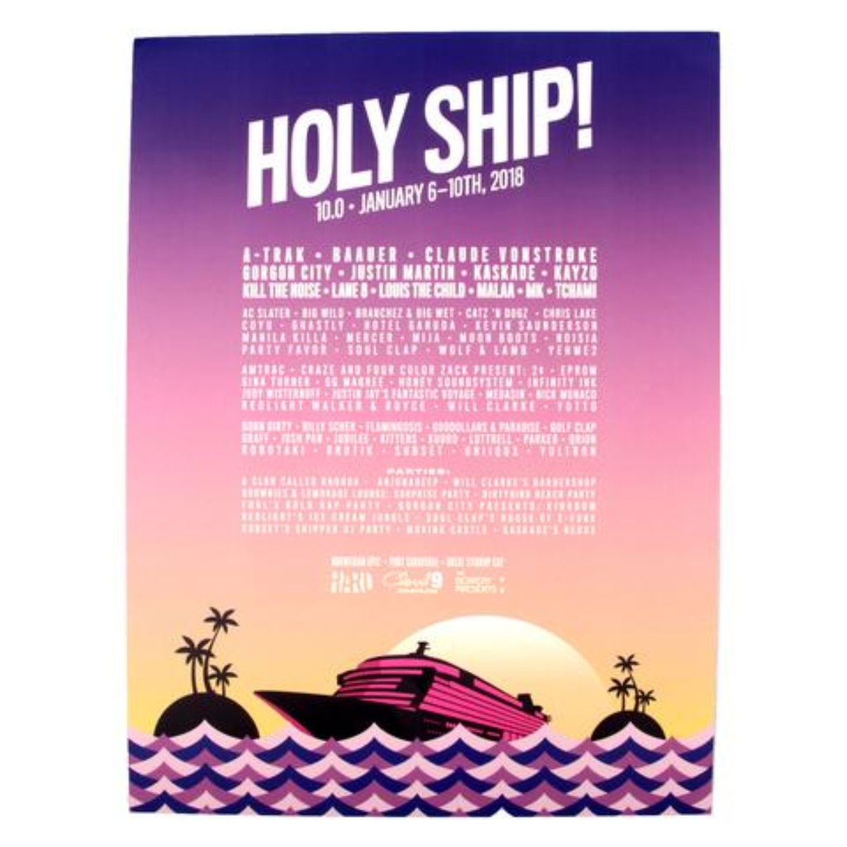 Holy Ship! 2018 10.0 Poster