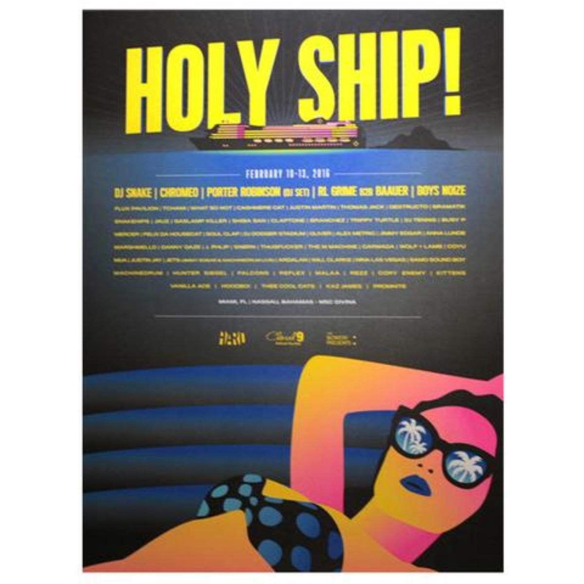 Holy Ship! Feb 2016 Poster