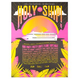 Holy Ship! Jan 2015 Poster
