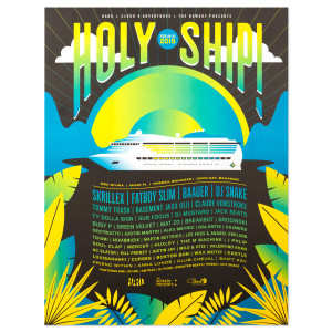 Holy Ship! February 2015 Official Event Poster