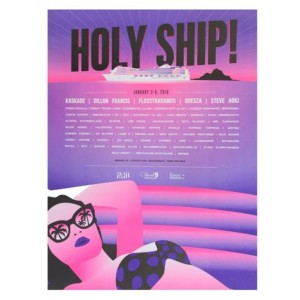 Holy Ship! Jan 2016 Poster