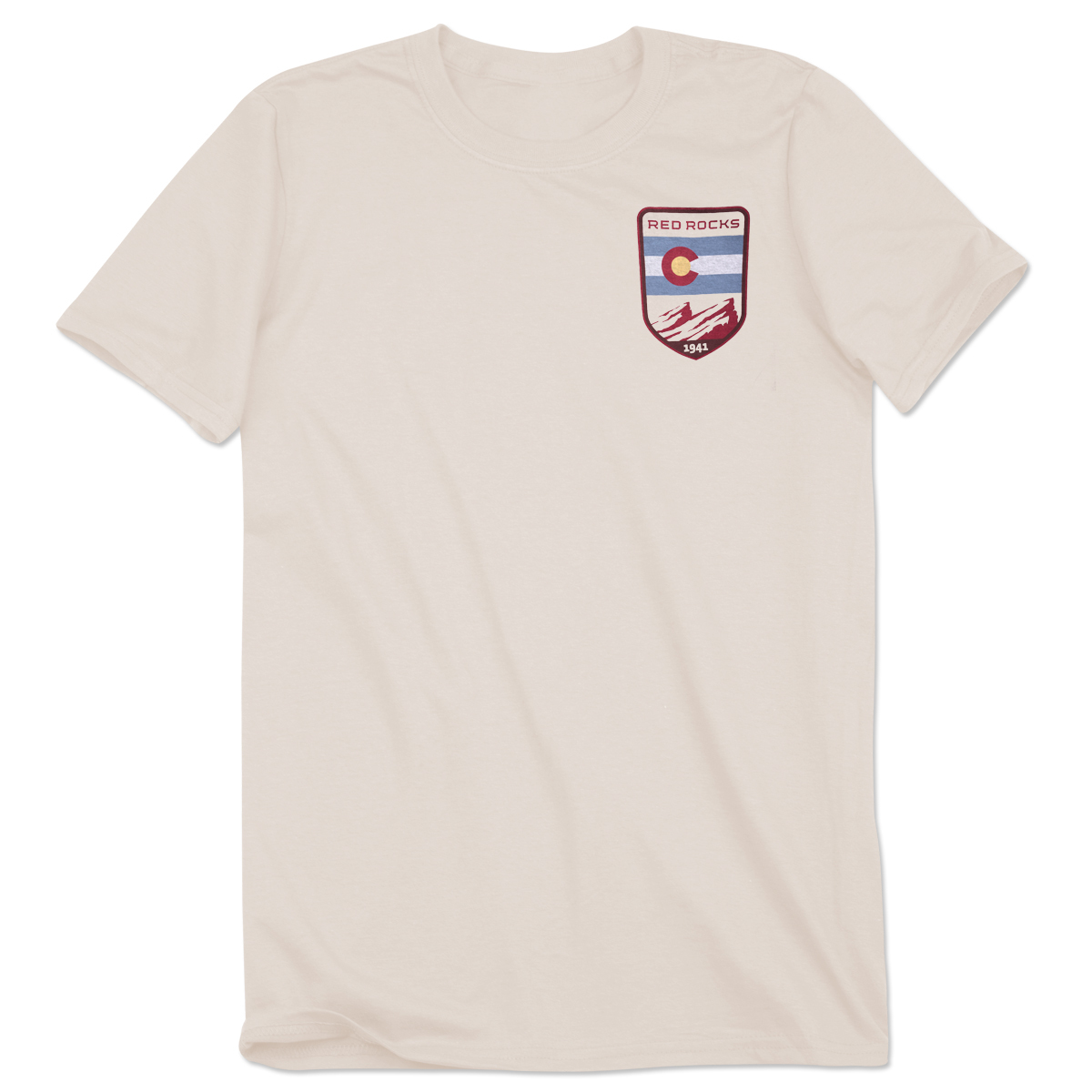 Red Rocks Patch Look T-Shirt