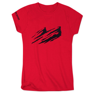 "Juniors Red ""Rocks"" T-Shirt"