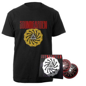 Badmotorfinger 25th Anniversary 2CD Deluxe + Tee Bundle