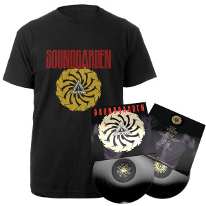 Badmotorfinger 25th Anniversary 2LP + Tee Bundle