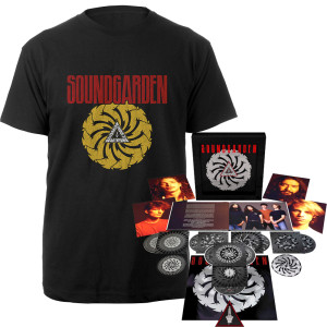 Badmotorfinger Super Deluxe Edition + Tee Bundle