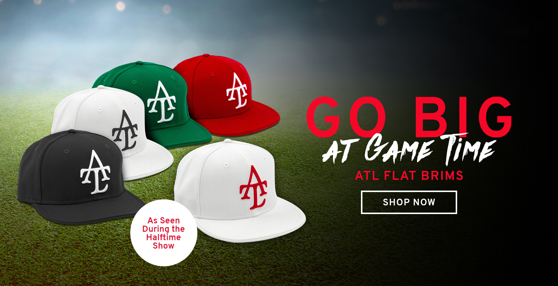 ATL Flat Brims...Shop Now!