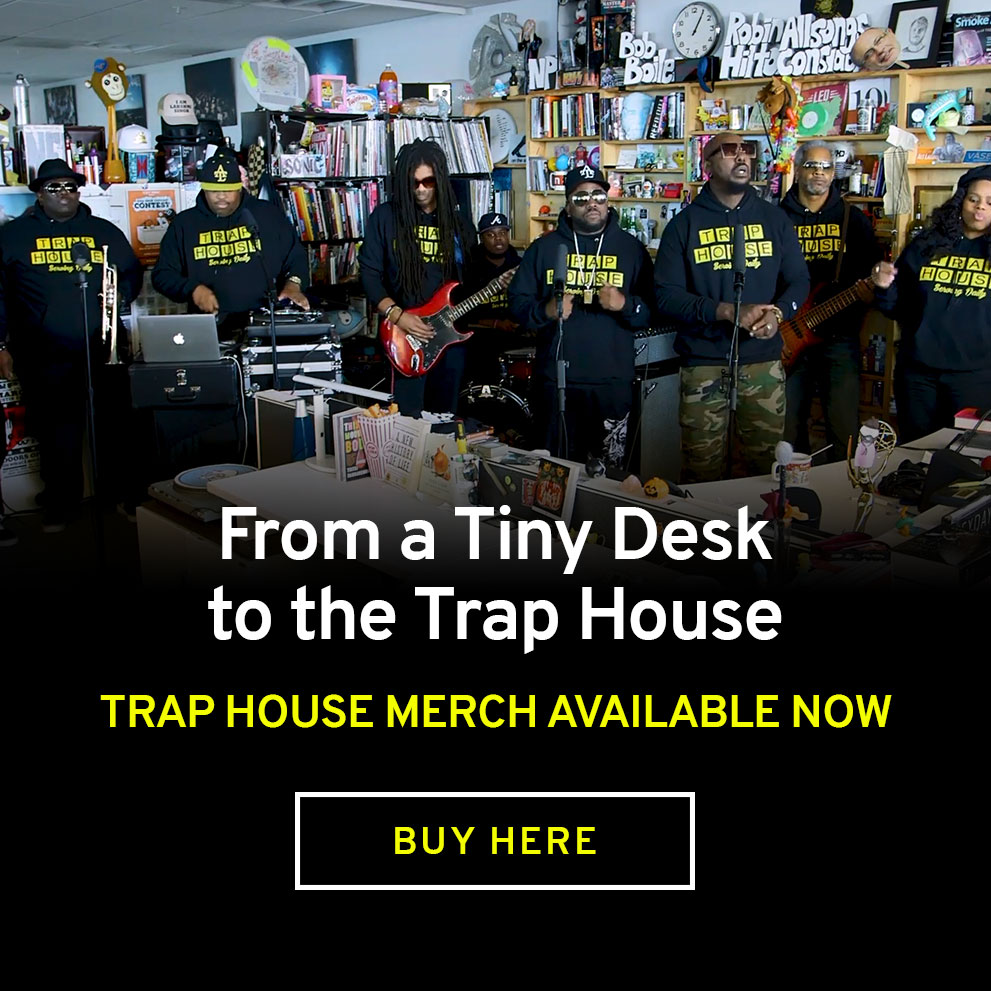Trap House Merch Available!