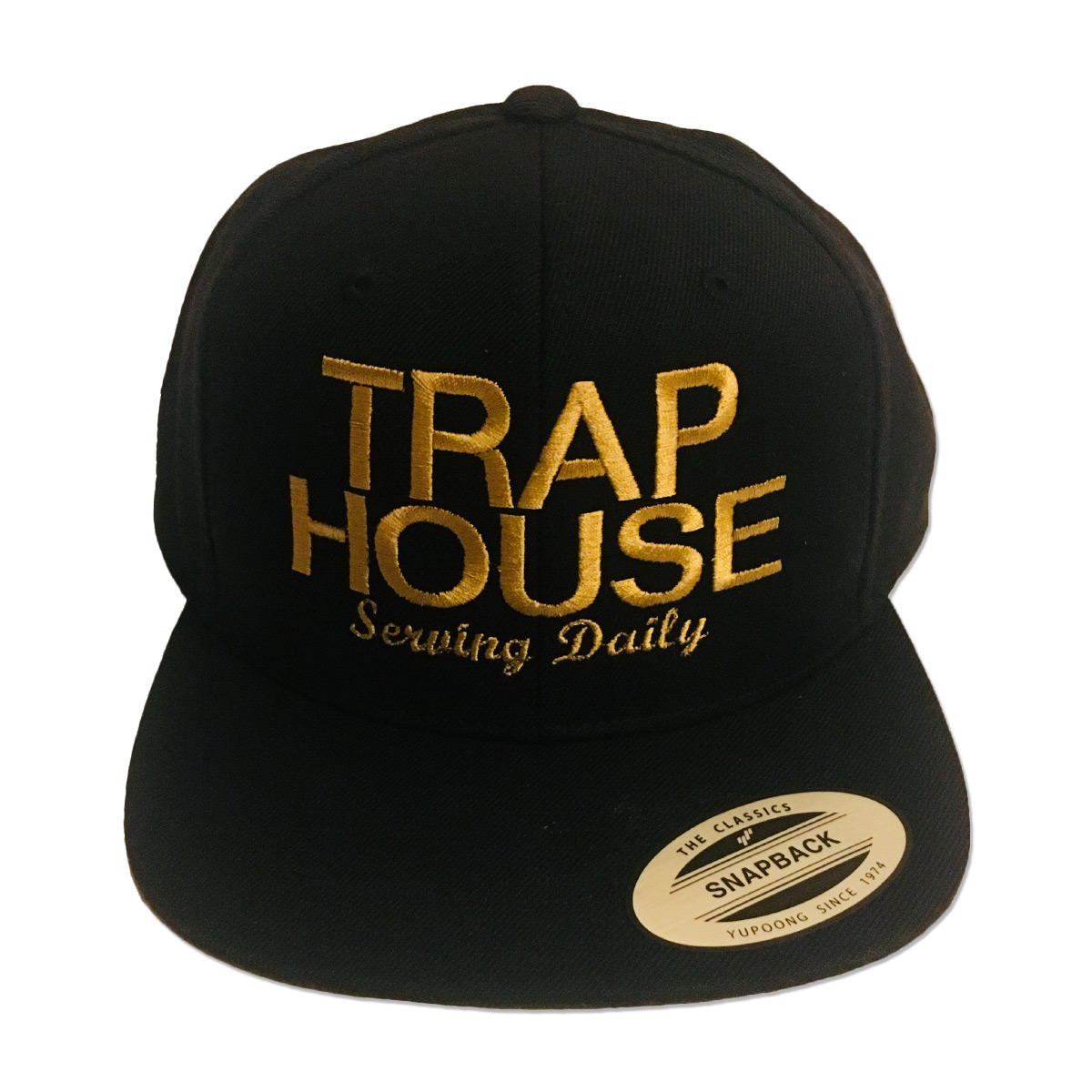 Trap House Snapback Hat