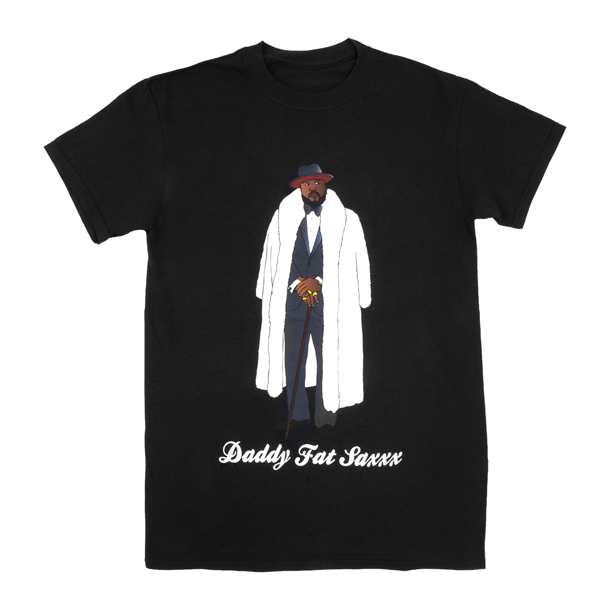 Daddy Fat Saxxx Tour Tee