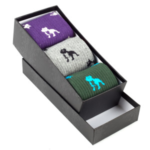LEFTFOOT SOCKS BY CROOKS & CASTLES - 3 PACK