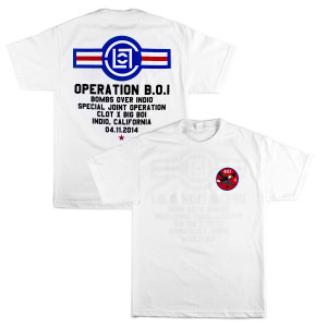 WHITE OPERATION B.O.I. T-SHIRT