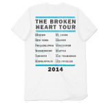 Rixton Vintage  Logo Tour T-Shirt