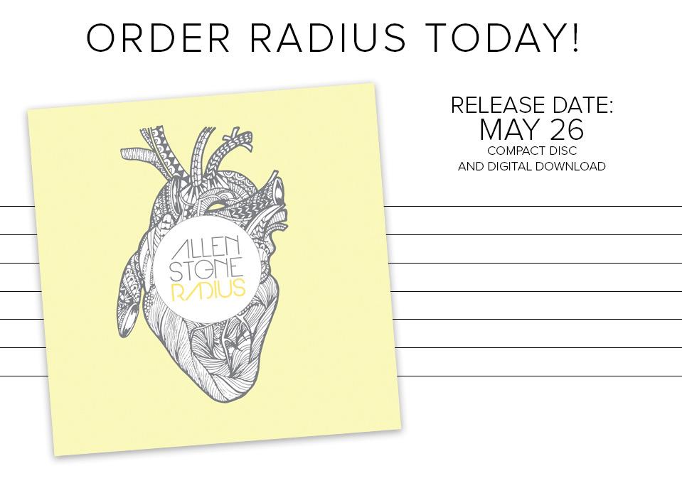 Pre-Order Radius Now!