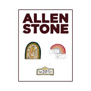 Allen Stone Pin Set