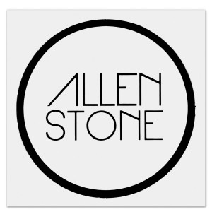 Allen Stone - Sticker (Black)
