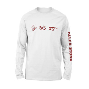 Allen Stone - Building Balance Long Sleeve T-shirt