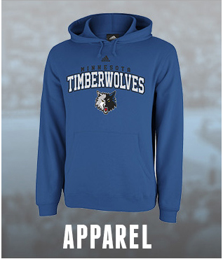 Minnesota Timberwolves Apparel