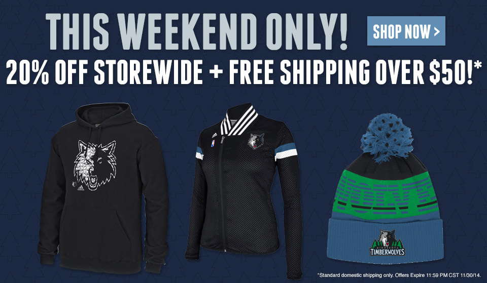 20% Off Storewide + Free Shipping Over $50!