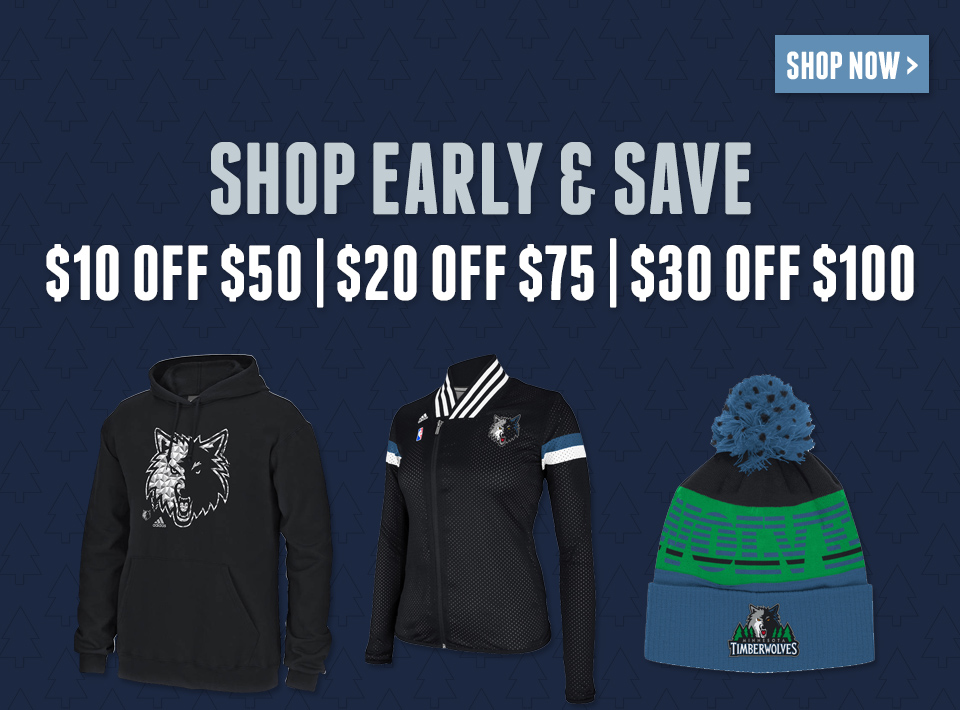 Shop Early and Save More!
