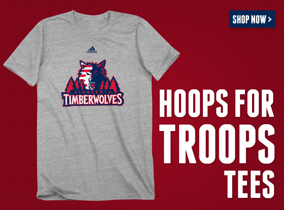Hoops for Troops Tees Now Available!