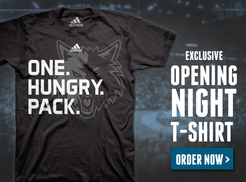 One. Hungry. Pack. Exclusive Opening Night Tee.
