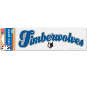 Timberwolves 3x10 Perfect Cut Decal (script)